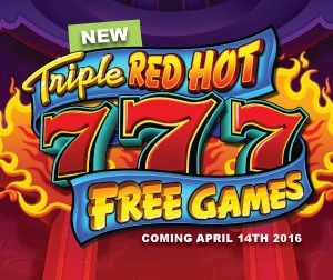 Triple Red Hot 7s Free Games kan mangedoble dine gevinster!