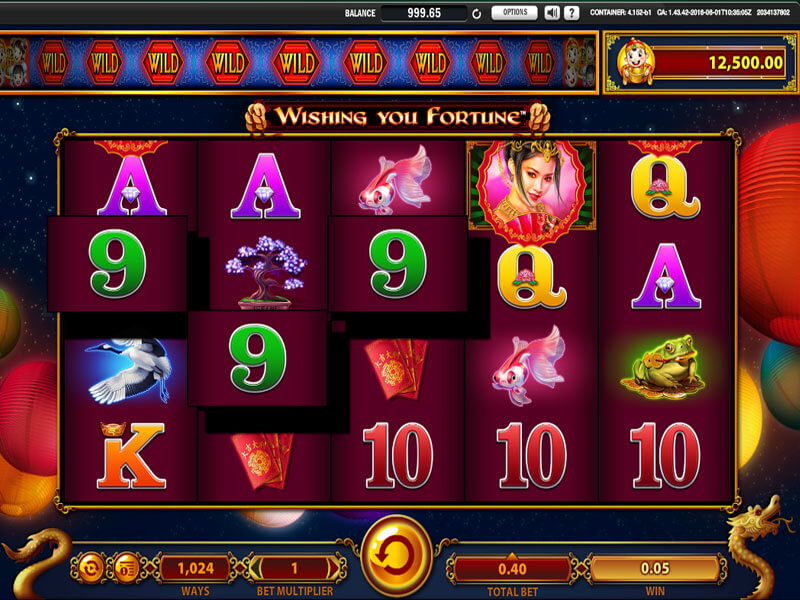 Vinn stort med Wishing You Fortune