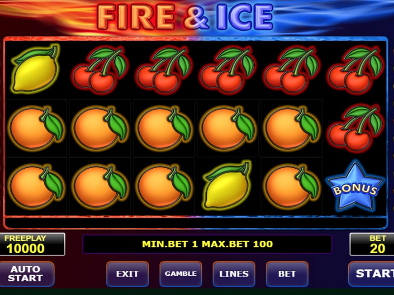 Fire and Ice spilleautomat