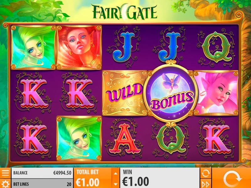 Fairy Gate spilleautomat – Få wild med re-spinn for massive gevinster!